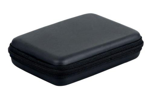 Zehui - Funda rígida con cremallera para disco duro portátil (2,5'), color negro