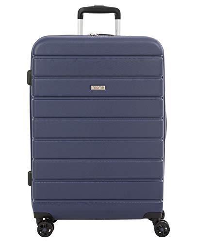 imome Top Maleta Mediana Azul Marino Cierre TSA 67x47x27/30 cm Expandible | Trolley de...