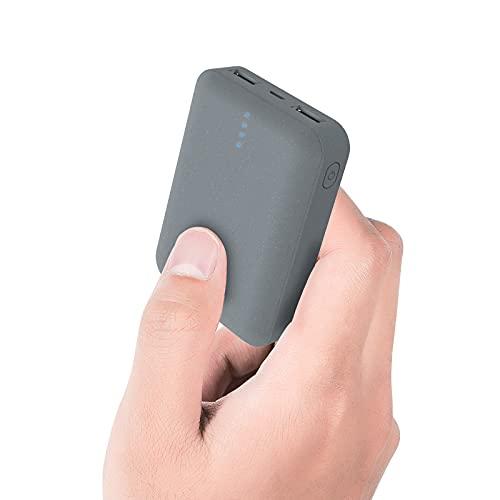ockered Batería Externa Power Bank 10000Mah, Cargador Portátil Móvil con 2 Puertos Salidas USB Alta Velocidad y LED, Compatible con, Phone,Samsung Galaxy, Huawei Y Otros Smartphones