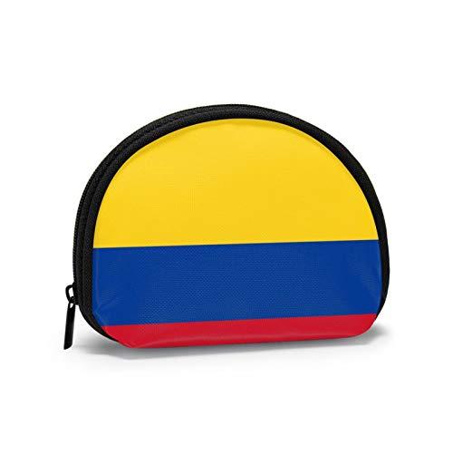 Monedero pequeño con Bandera Colombiana para Mujer, Lindo Monedero para niña, Mini...