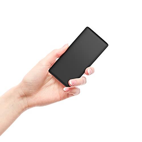 BABAKA Power Bank 10000mAh Carga Rápida, Bateria Externa para Móvil PD18W & QC3.0 Ultra-Thin y Ligero Cargador Portátil con 2 Salidas 2 Entradas para Smartphone, Tablet, y los Productos 3C