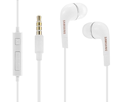 SAMSUNG EHS64Original In-Ear Auriculares Tapones para Smartphone Clavija Estéreo de 3,5mm Color Blanco
