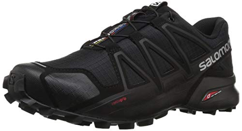 Salomon Speedcross 4, Zapatillas de Trail Running Hombre, Negro (Black/Black/Black...