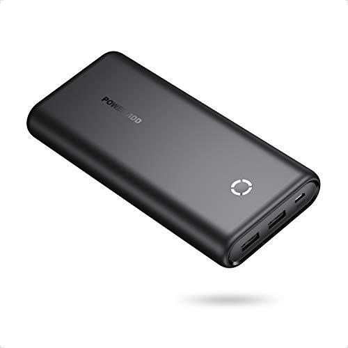 POWERADD EnergyCell Batería Externa Power Bank 20000mAh Cargador Móvil Portátil con 2...