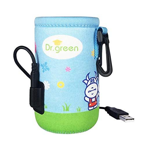 Calentador De Biberones USB Bolsa De Calentador De Biberones Portátil Con USB De Calefacción Hay Tres Archivos Cálidos Se Puede Ajustar De Acuerdo Con La Temperatura De Las Cuatro Estaciones.