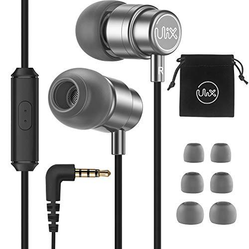 Auriculares-In-Ear-con-Cable-Micrófono, ULIX Rider Auriculares Internos...