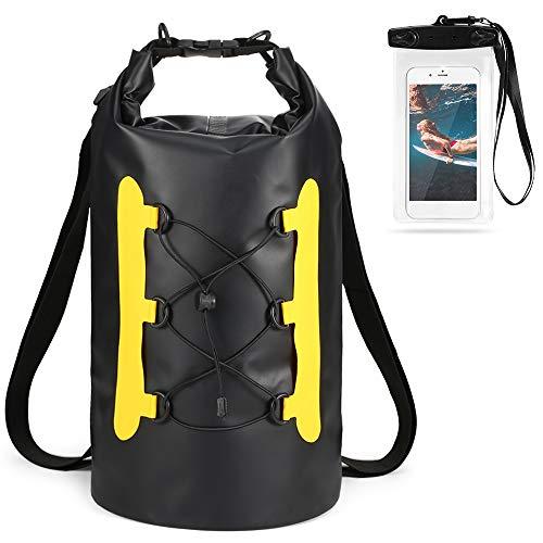 Lixada Bolsa Estanca Seca Impermeable Roll-Top Mochila Impermeable para Trekking Nadar Kayak...