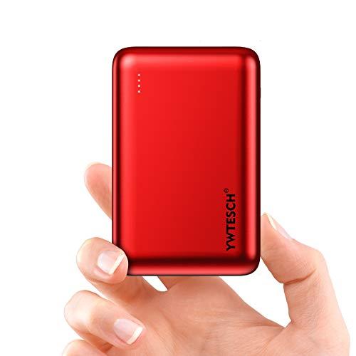 YWTESCH Batería Externa 20000mAh, Power Bank Cargador Portátil, 2 Salida USB-A y 1...