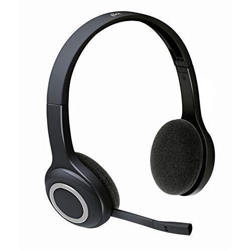 Logitech H600 Auriculares Inalámbrico, Sonido Estéreo con Micrófono Giratorio, Nano...