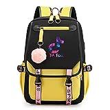 Wegji TIK - Tok Douyin, mochila para portátiles antirobo, delgada, duradera,...