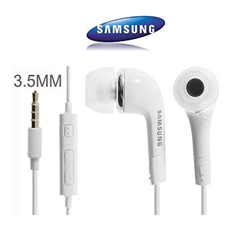 EHS64AVFWE - Auriculares in-Ear para Samsung Galaxy S7, S6 Edge Plus, S5 Mini, S4 I9500, S4 Mini I9190, Color Blanco