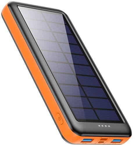 Feob Cargador Solar 26800mah, Power Bank Solar【2020 IC de Control Inteligente】con...