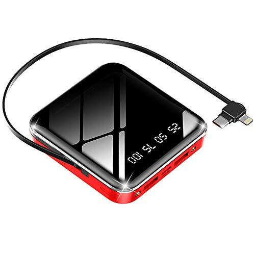 BOXIAO 10000mAh Banco de la energía, la luz del Cargador portátil, Ultra Compacto con...