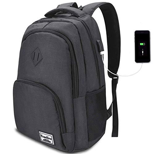 17 Pulgadas Mochila de Portátil con USB Puerto para Escolar Negocio- 35L (17.3 Pulgada,...