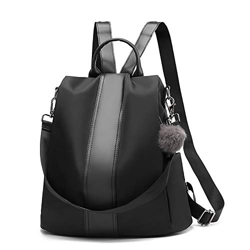 StillCool Antirrobo Bolsa para Mujer Tela Oxford, Mochila Bolsos de Mano Impermeable y Antirrobo Backpack Daypack para Escuela,Trabajo,Y Viajo,etcétera