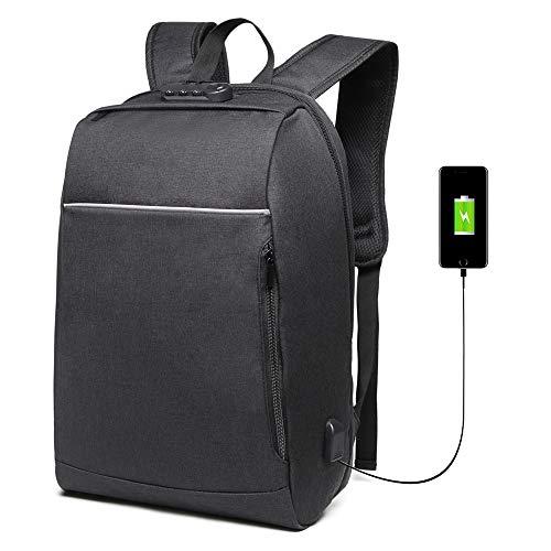 Danny® Business Anti-Theft con gran compartimiento para computadora portátil para...