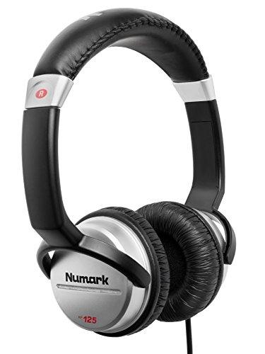 Numark HF125 - Auriculares de DJ Profesionales Ultraportátiles con Cable de 1,8 m,...