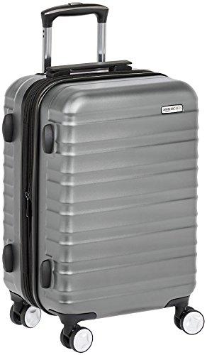 AmazonBasics - Maleta de mano rígida de alta calidad, con ruedas y cerradura TSA incorporada, 55...