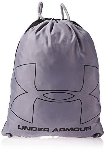 Under Armour Ozsee Sackpack Bolsa De Equipaje, Unisex, Negro (Black/Steel 001), Talla única
