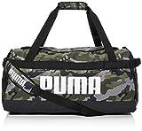 PUMA Challenger Duffel Bag M Bolsa Deporte, Unisex Adulto, Forest Night/Camo...