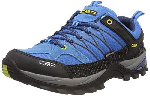 CMP Rigel, Zapatos de Low Rise Senderismo para Hombre, Turquesa (Indigo-Marine 02lc), 44 EU