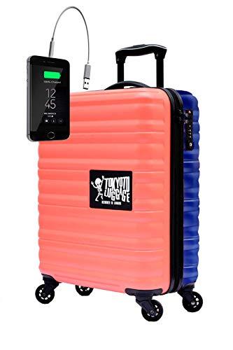Maleta de Cabina Equipaje de Mano 55x40x20 Maleta Juvenil Trolley de Viaje Ryanair Easyjet...