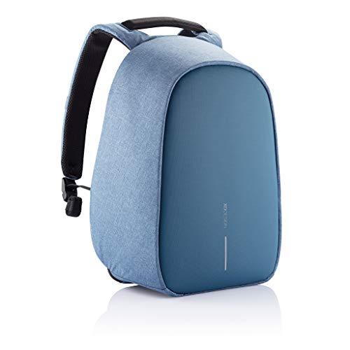 XD Design Bobby Hero Regular Mochila Antirrobo USB Azul Claro (Bolso Unisex)