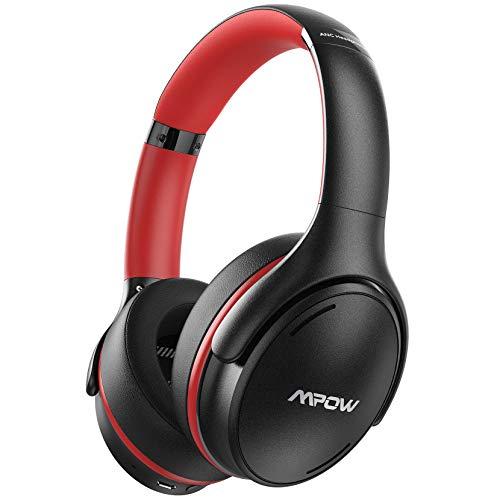 [Nuevo] Mpow H19 iPO Cascos con Cancelación de Ruido, Bluetooth5.0, 35 Horas de...