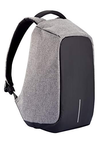 XD Design Bobby XL 17' Portátil Mochila Antirrobo Gris con USB (Bolsa Unisex)