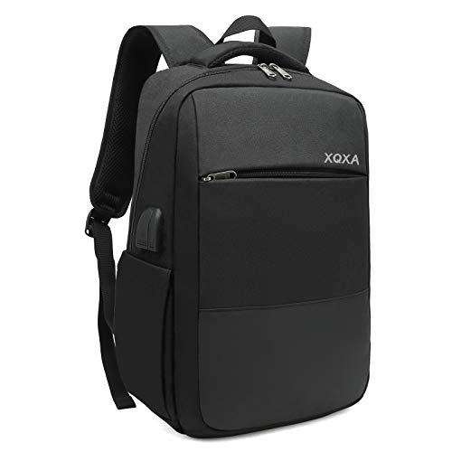 XQXA Mochila Unisex Impermeable para Ordenador Portátil de hasta 15.6 Pulgadas, con...