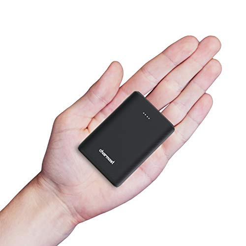 Charmast Mini Powerbank 10400mAh Cargador Portátil Batería Externa Carga Rápida[18W PD/USB Type-C] Batería Portátil QC3.0 con 2 Entradas&3 Salidas Compatible con Smartphones, Tablets y más
