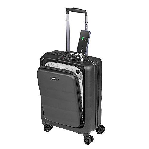 Maletas de Cabina 55x40x20 con USB de Carga Equipaje de Mano Trolley rigida 4 Ruedas...