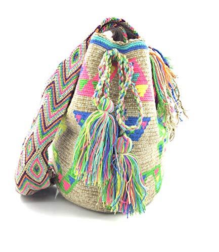 COLOMBIAN STYLE Bolsos Colombianos Artesanales de estampados unicos, mochila Wayuu tanto...