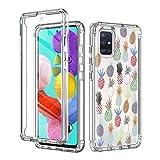 Yoedge para Samsung Galaxy A71 4G 6,7' Fundas,360 Grados Transparente y...