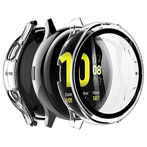 LK Compatible con Samsung Galaxy Watch Active 2 44mm Protector de...