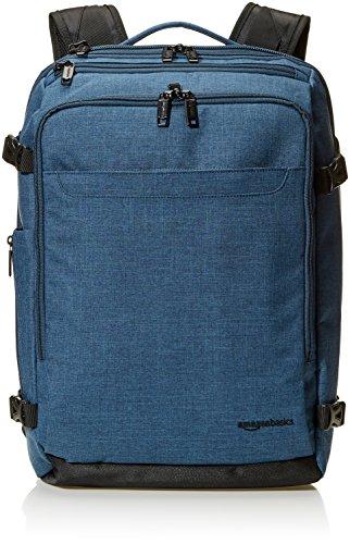 Amazon Basics - Mochila compacta de viaje, Verde, para viajes de fin de semana