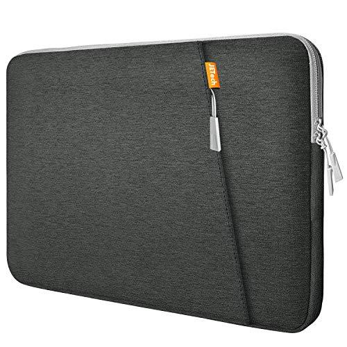 JETech Funda Portátil Compatible 13,3' Notebook Tableta iPad Tab, Maletín de Bolsa Impermeable, Sleeve Compatible con Macbook Air/Pro, MacBook Pro de 13', 12.3 Surface Pro, Surface Laptop, Gris