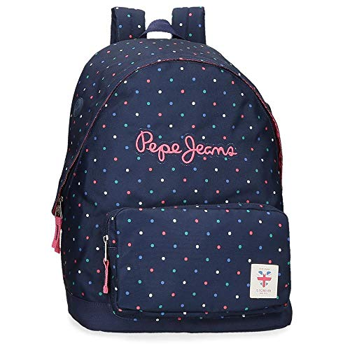 Pepe JeansMolly Adaptable BackpackNiñasMochilasAzul (598dark Ocean)1x1x1 Centimeters (W x...