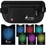 Portadocumentos Viaje Tipo cinturón de Viaje con Bloqueo RFID - Incluye Set de Funda...
