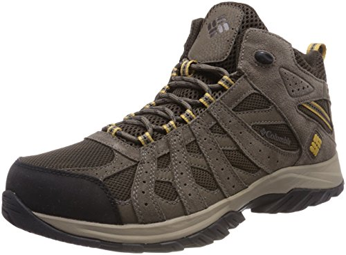 Columbia Canyon Point Mid, Zapatillas de Senderismo Impermeables Hombre, Marrón...