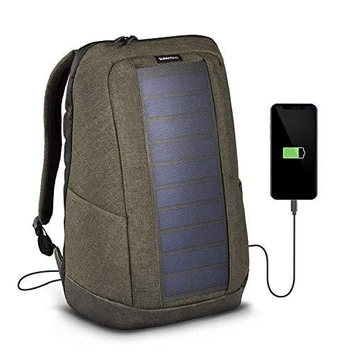 SunnyBAG Iconic Mochilla Solar para Laptop, Panel Solar de 7 vatios, Cargador de...