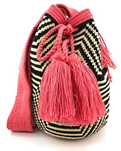 COLOMBIAN STYLE Bolsos Colombianos Artesanales de laberinto, mochila Wayuu tanto para...