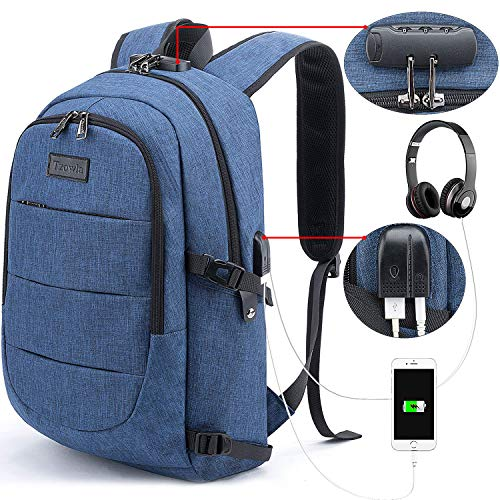 Tzowla Business Laptop mochila antirrobo universidad mochila con...