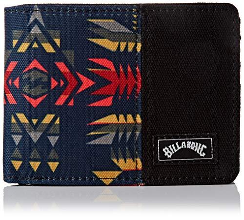BILLABONG Tides Wallet, Travel Accessory - Cartera de Viaje Unisex Adulto, Multicolor (Sunset), Talla única