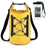 Lixada Bolsa Estanca Seca Impermeable Roll-Top Mochila Impermeable para Trekking Nadar...