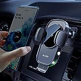 Auckly Qi 15W Cargador Inalámbrico Coche,Wireless Car Charger Soporte con...