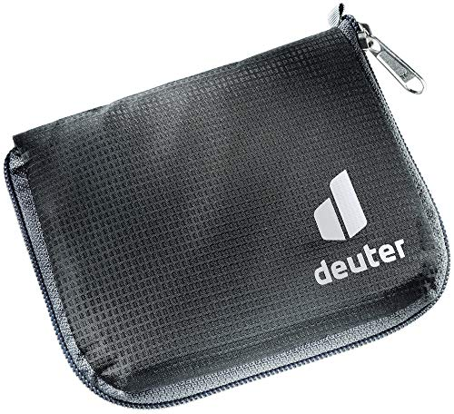Deuter Zip Wallet RFID Block, Monedero Unisex Adulto, negro, talla única