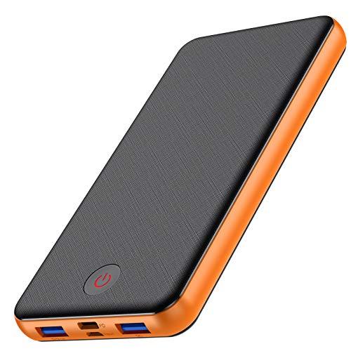 VOOE 18W Batería Externa 26800mAh [PD & QC 3.0 Carga Rápida] Power Bank con 3 Salidas...