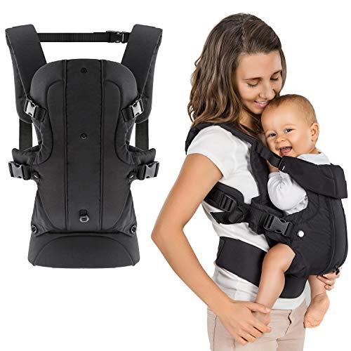 Fillikid - Mochila portabebés ergonómica 4 en 1 - Múltiples posiciones, crece con el niño, ajustable - para recién nacidos y bebés. (3,5-15 kg)