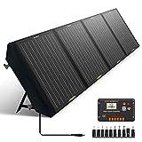 ECO-WORTHY Panel Solar Plegable de 120W para Estación de Energía Portátil y...